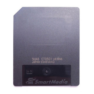 SmartMedia 64MB 3.3V SM Memory Card Brand New GENUINE Made in Japan By TOSHIBA