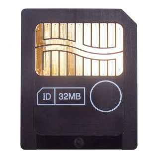 Interface: 22 Pin 64MB:3.3V Size & Weight: 45mm (width) × 37mm (height) × 0.67mm (thickness) Suitable for Olympus, Fujifilm, Samsung old model cameras, such as Olympus C series. FinePix S602、F401、A101、A201、2600Zoom、2800Zoom、6800Zoom、6900Zoom ...... MP3, PDAs, mobile phones, electronic organ, electronic synthesizers and other digital products which support SM smartmedia cards