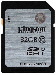 Kingston's Class 10 Secure Digital High Capacity cards are designed to meet the storage demands of high-quality digital still and video cameras and other personal electronic devices. Kingston's SDHC Class 10 cards deliver a 10MB/s minimum data transfer rate for optimum performance with SDHC devices; they're ideal for HD video recording and fast transfers. The cards are 100-percent tested and backed by a lifetime warranty, 24/7 technical support and legendary Kingston reliability. Simple — as easy as plug-and-play Compliant — with the SD Card Association specification Secure — built-in write-protect switch prevents accidental data loss Compatible — with SDHC & SDXC host devices; not compatible with standard SD-enabled devices/readers File Format — FAT32(SDHC), exFAT(SDXC) Reliable — lifetime warranty All products listed are obtained from authorised sources