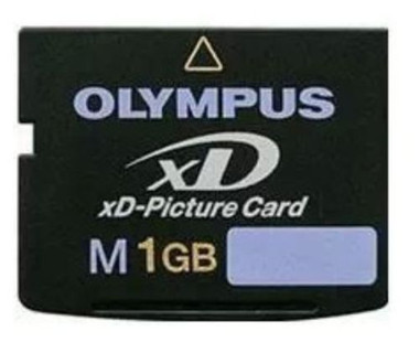Olympus 1GB xD M Picture Memory Card Dimensions:.1 in. H x 1.14 in. W x .67 in. L Materials:Electronic components Model No:M-XD1GM3  Support your digital camera's storage perfectly with this digital memory card Olympus memory card is the only xD card to feature support for Olympus' Panorama function xD M+ memory cards are designed for Olympus digital cameras Olympus xD M plus Picture Card is compact for smaller and more stylish digital devices Memory card works quickly and easily for transferring images and data to a computer Card features 1GB of storage space Durable and reliable Compatible to all Olympus and Fuji xD m+ compatible devices Compatible with most manufacturers' xD M+ compatible devices Type M+ xD-Picture card is compatible with all xD-compatible cameras and is 1.5 times faster than the previous Type M card Increase in speed may be useful in sequential shooting of digital stills and in the recording of high-density video with Olympus cameras