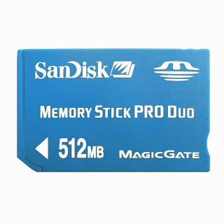 SanDisk 10 x 512MB Memory Stick PRO Duo SDMSPD-512 Genuine New W/Cases For SONY