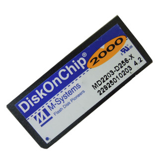M-Systems 256MB Disk On Chip 2000 MD2203-D256 DOC Flash Memory Module Genuine