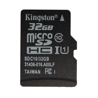 """Kingston's microSD/microSDHC/microSDXC Class 10 cards offer higher storage capacity and performance that meets the Class 10 Standard. With capacities of 8GB, 16GB and 32GB, 64GB and 128GB, Kingston's microSD cards use the new speed """"class"""" rating that guarantee a minimum data transfer rate for optimum performance with devices that use microSD. Wherever you find yourself in the mobile world, you can trust and rely on Kingston's microSD cards. All cards are 100% tested and are backed by a lifetime warranty and free live technical support. Class 10: 10MB/sec. minimum data transfer rate Compliant — with the SD Specification Version 2.00 Versatile — when combined with the adapter, can be used as a full-size SD card Compatible — with microSD host devices File Format — FAT 32(microSDHC), exFAT(microSDXC) Reliable — lifetime warranty"""