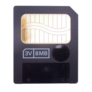 Interface: 22 Pin 0.5MB:5V 8MB:3.3V Size & Weight: 45mm (width) × 37mm (height) × 0.67mm (thickness)  Suitable for Olympus, Fujifilm, Samsung old model cameras, such as Olympus C series. FinePix S602、F401、A101、A201、2600Zoom、2800Zoom、6800Zoom、6900Zoom ...... MP3, PDAs, mobile phones, electronic organ, electronic synthesizers and other digital products which support SM smartmedia cards