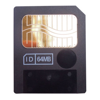 Interface: 22 Pin 0.5MB:5V 64MB:3.3V Size & Weight: 45mm (width) × 37mm (height) × 0.67mm (thickness)  Suitable for Olympus, Fujifilm, Samsung old model cameras, such as Olympus C series. FinePix S602、F401、A101、A201、2600Zoom、2800Zoom、6800Zoom、6900Zoom ...... MP3, PDAs, mobile phones, electronic organ, electronic synthesizers and other digital products which support SM smartmedia cards