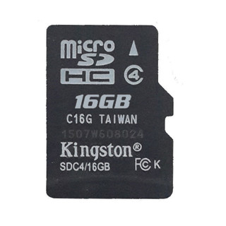 """Identical in physical size to a standard microSD card, the microSDHC and  microSDXC cards are designed to comply with SD card Specification and are only recognized by microSDHC or microSDXC host devices. They can be used as full-size SDHC/SDXC cards when used with the included adapter. To ensure compatibility, look for the microSDHC, microSDXC or SDHC /SDXC logos on host devices (e.g., phones, tablets and cameras)。 Wherever you find yourself in the mobile world, you can rely on Kingston's  microSDHC/SDXC cards. All cards are 100-percent tested and are backed by a lifetime warranty. Get more out of your mobile world. In capacities ranging from 4GB–128GB, microSDHC/SDXC cards offer higher storage for more music, more videos, more pictures, more games — more of everything you need in today's mobile world. The microSDHC and microSDXC cards allow you to maximize today's revolutionary mobile devices. Kingston's microSDHC/SDXC cards use a speed """"class"""" rating that guarantees a minimum data transfer rate for optimum performance with devices that use microSDHC/SDXC. Class 4 — minimum data transfer rates of 4MB/s. Great for point-and-shoot cameras, game consoles and other devices with SDHC support. NOTICE:The item(s) are NOT coming with retail packing, But 100% Genuine & Brand New."""