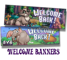 Welcome Back Banners