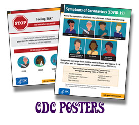 CDC Covid Posters