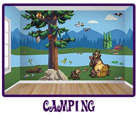 Camping Mural Kit