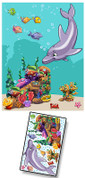 Cartoon Undersea Mural Kit Add-On #1