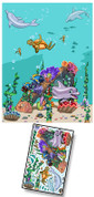 Cartoon Undersea Mural Kit Add-On #2