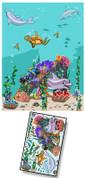 Cartoon Undersea Mural Kit Add-On #2
