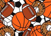 Sports Fan Pattern