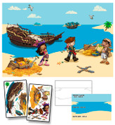 Pirates Cove Mural Kit