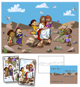 Jesus Stories Mural Kit