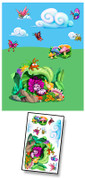 Baby Bug Garden Mural Kit Add-On #1