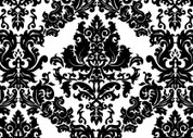 Damask (Black) Pattern