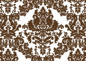 Damask (Brown) Pattern