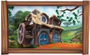 Framed Hobbit House Scene