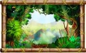 Framed Jungle Scene