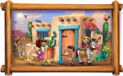 Framed Around the World Scene: Mexico (Choice of Frame)