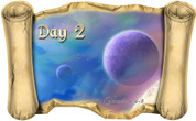 Creation Story Day 2 - Bible Scroll