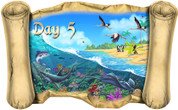 Creation Story Day 5 - Bible Scroll