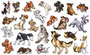 Neighborhood Puppies Peel-n-Stick Pack