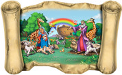 Noah's Ark - Bible Scroll