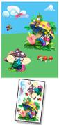 Baby Bug Garden Mural Kit Add-On #2
