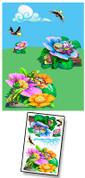 Baby Bug Garden Mural Kit Add-On #3