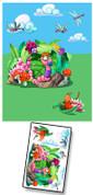 Baby Bug Garden Mural Kit Add-On #5
