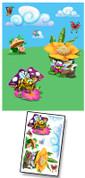 Baby Bug Garden Mural Kit Add-On #6