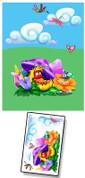 Baby Bug Garden Mural Kit Add-On #7