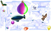 Sky Set: Clouds and Balloons VBS Peel-n-Stick Pack #2