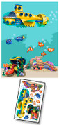 Cartoon Undersea Mural Kit Add-On #6