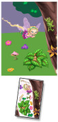 Fairy Garden Mural Kit Add-On #2 (Left)