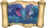 Jonah and the Whale - Bible Scroll