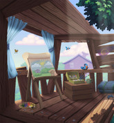 Backdrop: Toon Town Treehouse #2