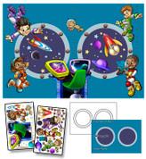 Galactic Station Mural Kit