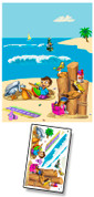 Paradise Island Mural Kit Add-On #3