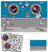 Space Monkeys Mural Kit