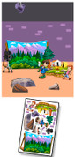 Backlot Studios Mural Kit Add-On (Camping Set #1)