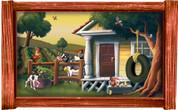 Framed Farm Scene #2 (Choice of Frame)