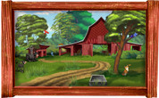 Framed Farm Scene #3 (Choice of Frame)