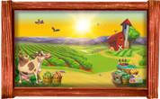 Framed Farm Scene #6 (Choice of Frame)