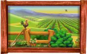 Framed Farm Scene #8 (Choice of Frame)