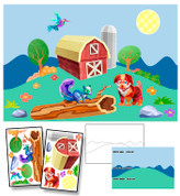 Calico Countryside Mural Kit