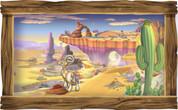 Framed Western Scene #2
