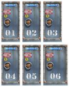 Overstock Wallcovering - Set of 6 Undersea Substation Doors